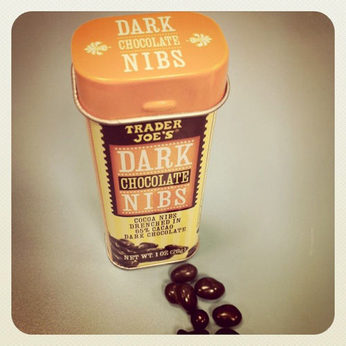 Trader Joe's Dark Chocolate Nibs