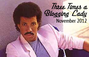 Once, twice, three times a blogging lady!