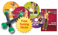 Zumba Fitness DVD Exercise Kit