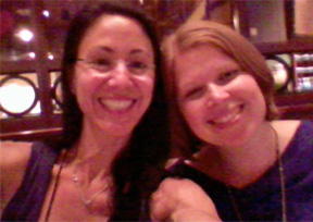 With my buddy Carla in 2011... WAH I MISS YOU!